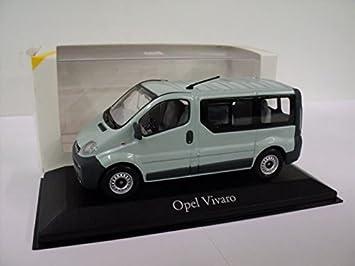 Wonderbaar VAUXHALL Genuine Opel Vivaro Bus (Green) 1:43 Diecast Model Car By II-62