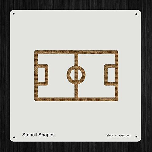 Football Field Stencil - 6