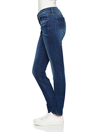 G-STAR RAW Damen Skinny Jeans Blau (Medium Aged) yh53u