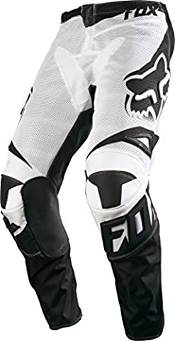 Fox Racing 2016 180 Race Airline Men's Off-Road Motorcycle Pants - White / Size 34 - Mens Off Road Motorcycle