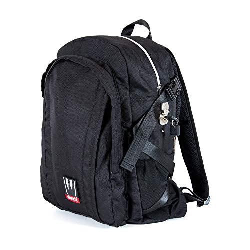 - Omerta Bag - Smell Proof Lockable Zippered Bag w/Carbon Filtered Bag (Transporter)