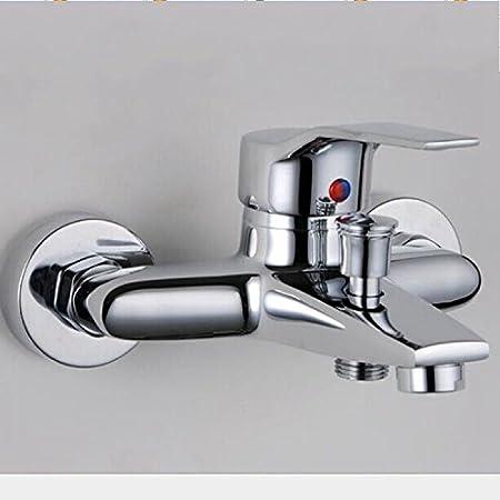 Ducha, Bañera grifo grifo, licuadora grifo latón cascada baño con ...
