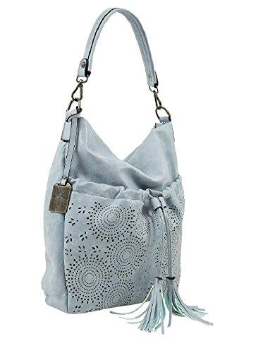 Emily & Noah Umhängetasche Damen Tasche Beuteltasche Julia sky Citytasche