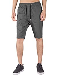 ITALY MORN Men's Casual Shorts Elastic Waist with Drawstring Stretch Jogging