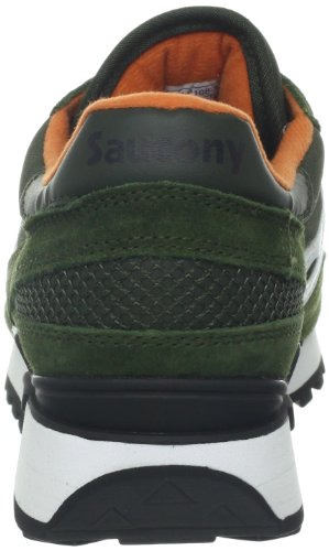 Saucony Jazz Original, Mens Shadow Original Cross Trainers, Dark Green/White, 9 UK (44 EU)