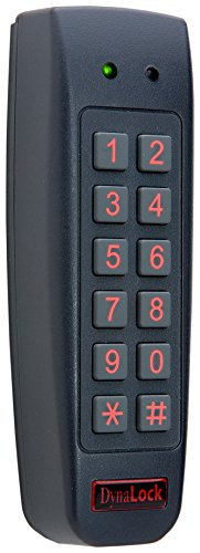 DynaLock 7450 Stand Alone Digital Keypad, Narrow, Mullion Design, 2