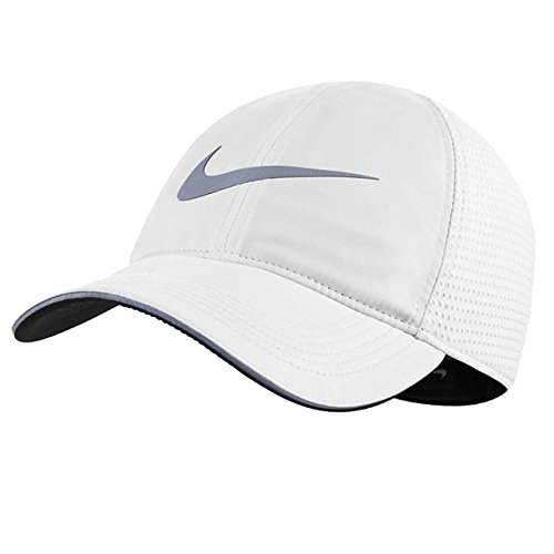 timeless design 3e196 ad996 Galleon - Nike Mens Aerobill Elite Running Adjustable Hat White 848375-100