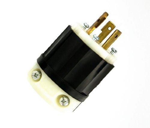 Leviton 2331-PLC 20-Amp, 277-Volt, NEMA L7-20P, 2P, 3W, I...
