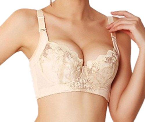 Women's Lace Push Up Bra Brassiere (Underwire 30-38 A-D)