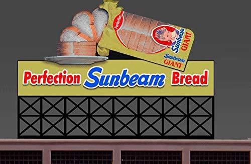 Lights4Models 88-3301 Sunbeam Bread (Large) by Miller Signs