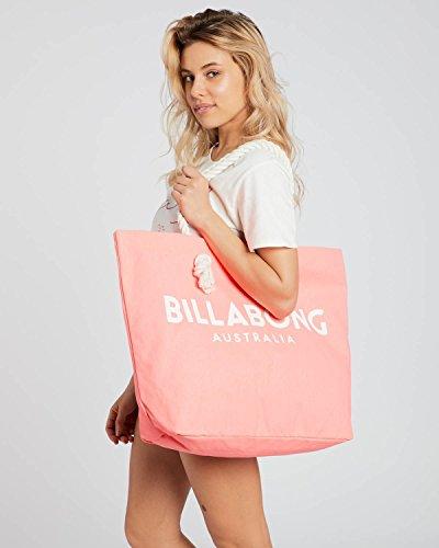H cm Playa Mujer x de Neon Bolsa y W Rosa Tote 1x1x1 de Tela para Peach L Billabong x Essentials 0xP6zwPR