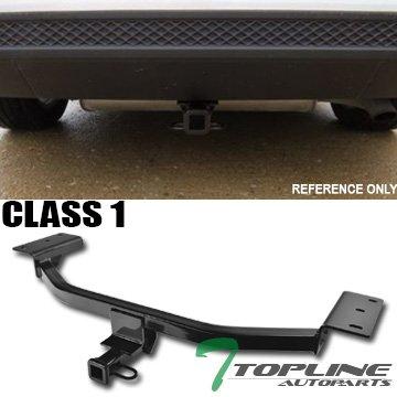 Ford Focus Bumper Rear (Topline Autopart Class 1 I Black 1.25