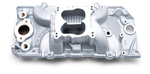 Sierra International 18-34084 Edelbrock Brass Water Intake Manifold for Big Block GM w/ Oval Port Cylinder Heads -  Teleflex
