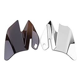 Saddle Shield Heat Deflector For Harley Electra Glides Road Glides Road Kings 2008 (Chrome)