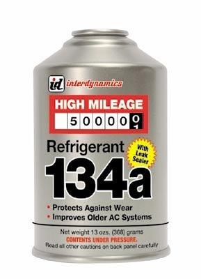 Interdynamics HMR-134 High Mileage Vehicle R-134a Refrigerant - 12 oz. (6)