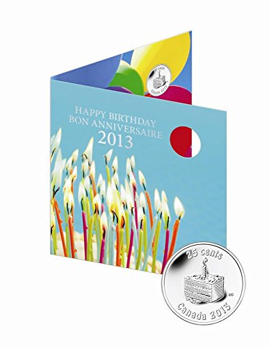 CA 2013 Mint Set Happy Birthday Birthday Gift Set (2013) Mint State (Royal Canadian Mint Coin Sets)