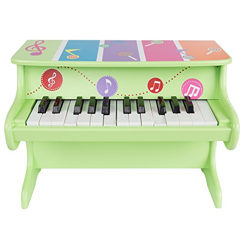 (Hey! Play! Children's Toy Piano 25-Key Colorful Musical Upright Piano with Sounds for Learning to Play for Children, Toddlers)
