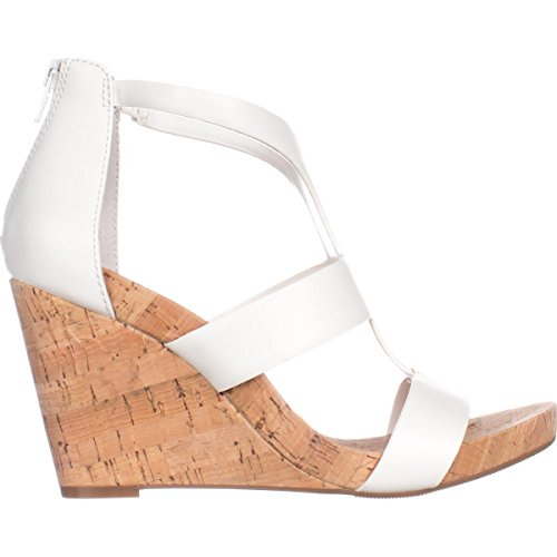 Femme pour International INC White Sandales Bright Concepts Blanc IP6qxRT