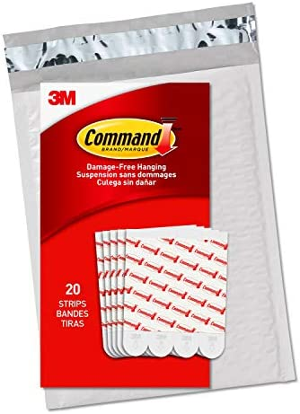 Command Large Replacement Strips Re-Hang Indoor Hooks (GP023-20NA)