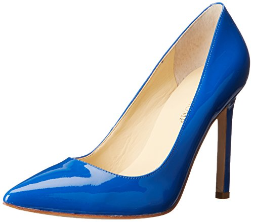 Patent Carra Trump Pump Ivanka Women's Dress Blue 4Y8wqUZEq