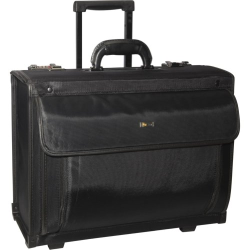 Solo PV78-4 Rolling Laptop Catalog Case, Bags Central