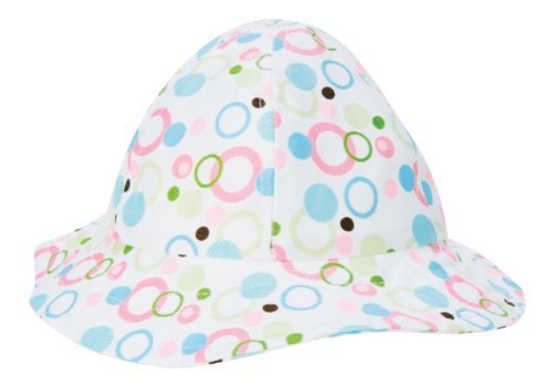 Trend Lab Beach Hat, Cupcake Bubbles, 6 Months by Trend (Trend Lab Bubbles)