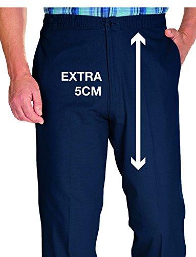 Pantalon Homme Coton Chums Élastique Haute Bleu Ceinture Avec qq64xrR