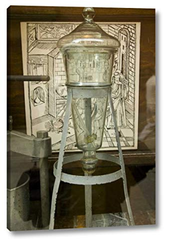 Pharmacy Jar - Poland, Gdansk Glass Apothecary jar a Pharmacy by Nancy - Steve Ross - 12