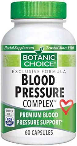 Botanic Choice Blood Pressure Complex, 60 Capsules
