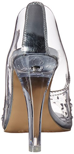 Pleaser Clearly 420 - Tacones para mujer Transparente (Clr Lucite)