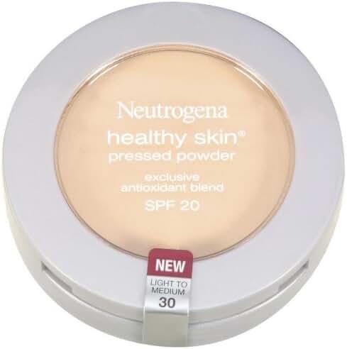 Neutrogena Healthy Skin Pressed Powder, SPF 20, Light to Medium 30