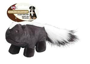 Ethical Pet Woodland Series 12-Inch Skunk Plush Dog Toy, Medium