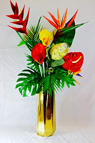 (Artificial Tropical mixed tropical flowers Imitation for Home Party Decorations)