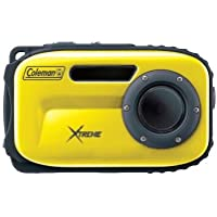 COLEMAN C5WP-Y 12.0 Megapixel Xtreme Waterproof Digital Camera (Yellow) (C5WP-Y)