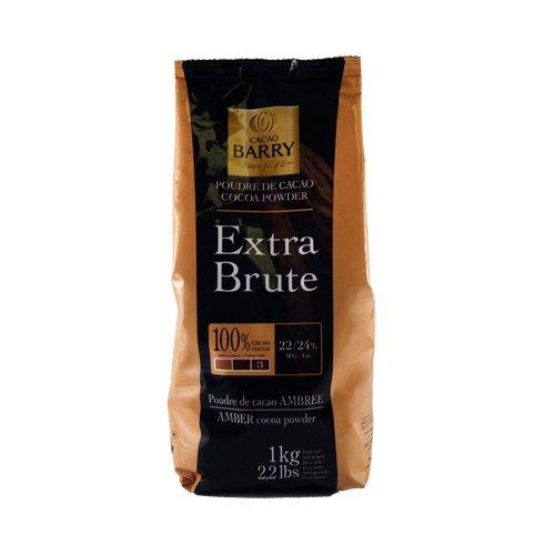 Cacao Barry Cocoa Powder 100% Cocoa Extra Brute, 2.2 lb ()
