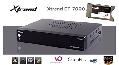 Xtrend et7000 Full HD Satellite Receiver with Cam: Amazon co