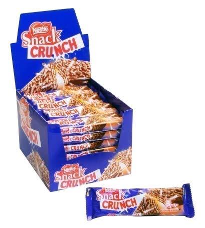 CRUNCH Snack Nestle – Chocolade – en ontbijtgranenreep – 30 stuks
