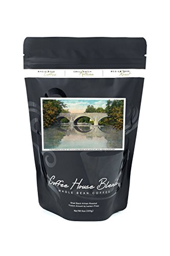 Creek Stone (Antietam Creek, Maryland - National Road, Old Stone Bridge near Hagerstown (8oz Whole Bean Small Batch Artisan Coffee - Bold & Strong Medium Dark Roast w/ Artwork))