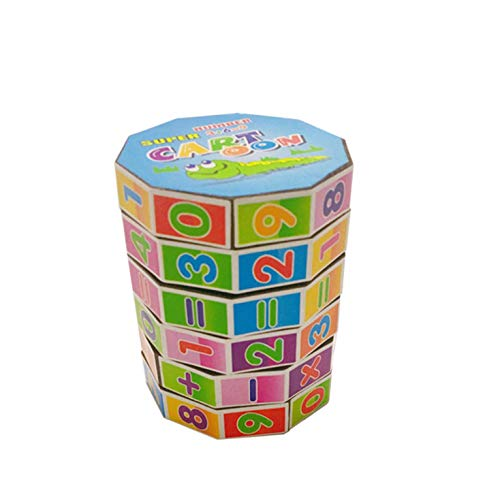 Dartphew Educational Toys Children Mathematics Numbers Magic Cube Toy Puzzle Portable Game Colorful Maths Numbers Counting for Boys and Girls Christmas Birthday Gift Maths RelaxingTeaching Way from Dartphew creative toys