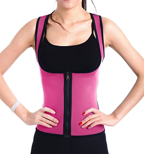 ValentinA Slimming Neoprene Vest Hot Sweat Shirt Body Shapers for Weight Loss Womens