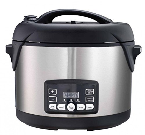 oval electric pressure cooker - 7