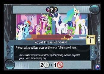 My Little Pony CCG - Royal Dress Rehearsal (184) - Canterlot Nights by Enterplay [並行輸入品] B018N7JIFO