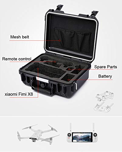 18547c961c5f Chiccc Carrying Case for Xiaomi FIMI X8 SE, Portable Travel Durable  Shoulder Bag Carrying Bag Handheld Bag Protective Storage For Xiaomi FIMI  X8 SE ...