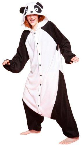 Bcozy Costumes Amazon (Bcozy Panda, Black/White, One Size)