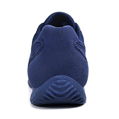 Feetmat Herren Laufschuhe Fashion Sneakers Leichte atmungsaktive Sport Wanderschuhe Blau