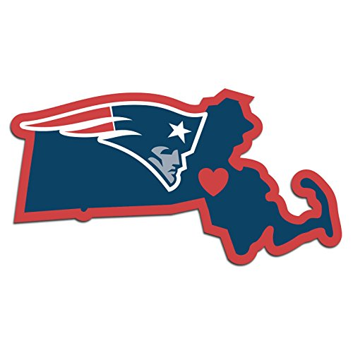 NFL New England Patriots Home State Decal, 5