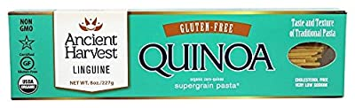 Ancient Harvest Quinoa - Organic Gluten-Free Quinoa Supergrain Pasta Linguine - 8 oz.(pack of 2)