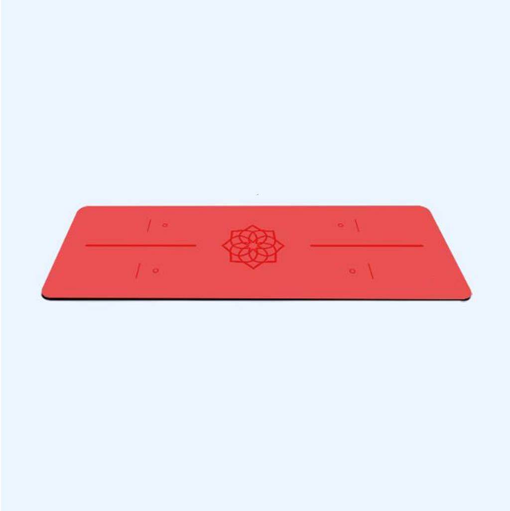 Shangshu Yoga Matte Verlängerung geruchlosen umweltfreundlichen Anfänger Fitness-Matte Männer und Frauen Körper Linie Anti-Rutsch-Yoga-Matte