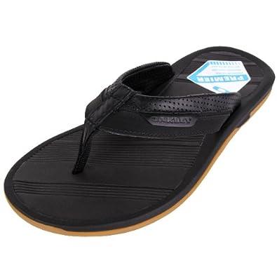 313bf2cf9d2 Oakley Premier Sandal Stealth Black 47.5  Amazon.co.uk  Shoes   Bags