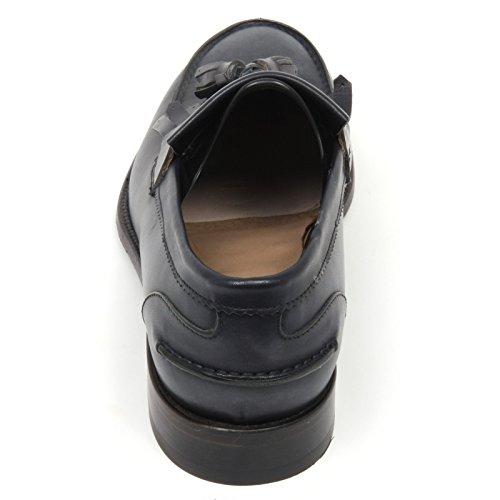 Blu loafer RUST C7826 1971 CARACCIOLO mocassino blu WASHED man shoe uomo Iw0Fxvq0H
